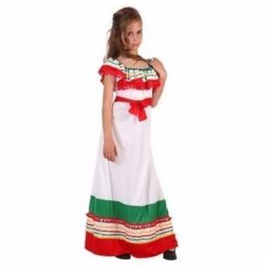Verkleedkleding mexicaanse jurk voor kinderen 10092021