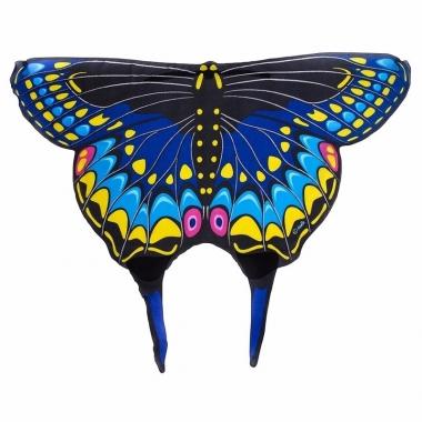 Vlinder vleugeltjes zwarte zwaluwstaart voor kinderen