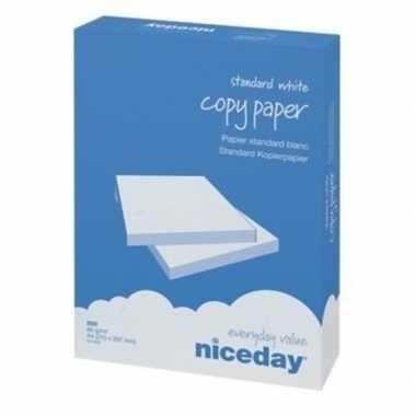 Voordelig wit a4 kopieerpapier 1000 vellen van niceday