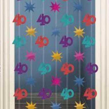 Wand decoratie 40 jaar