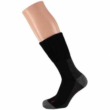 Wandel comfort sokken heren zwart