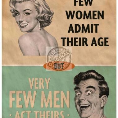Wandplaat admitting age