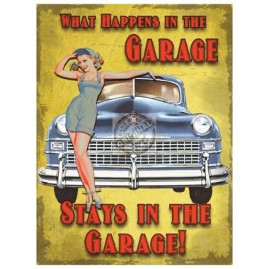 Wandplaat gadgets de garage
