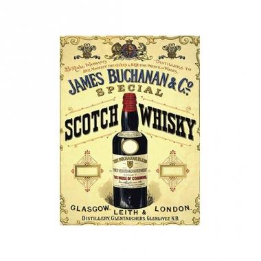 Wandplaat james buchanan whisky