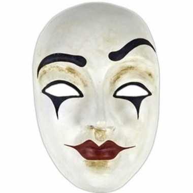 Wandversiering clowns masker