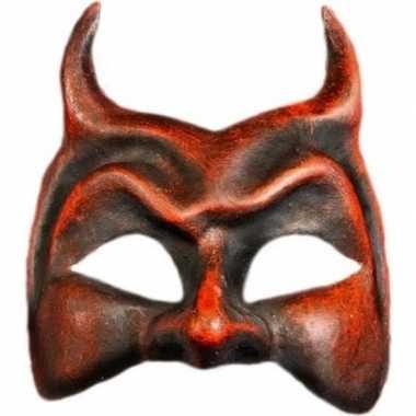 Wandversiering duivel masker