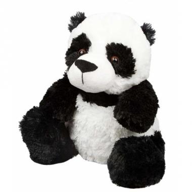 Warm knuffel panda babyshower kado