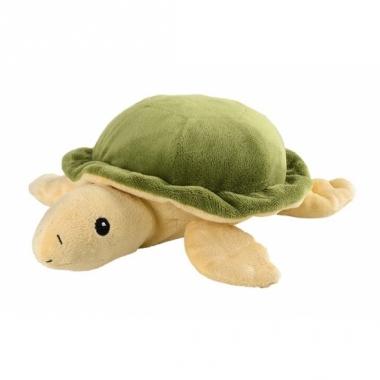 Warm knuffel schildpad babyshower kado