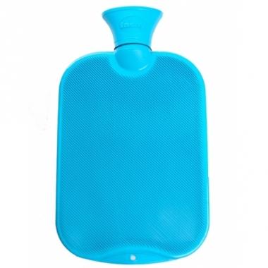 Warm water kruik turquoise 2 l