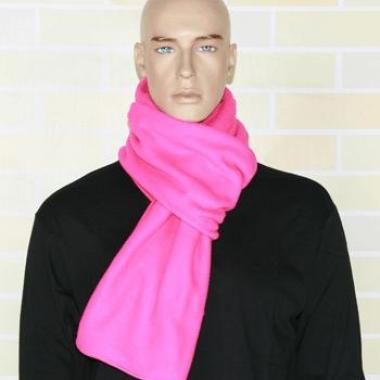 Warme fleece sjaals fuchsia roze