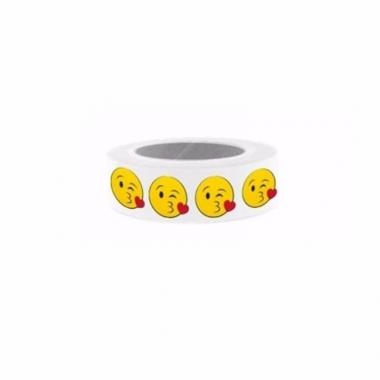 Washi knutsel tape emoticons