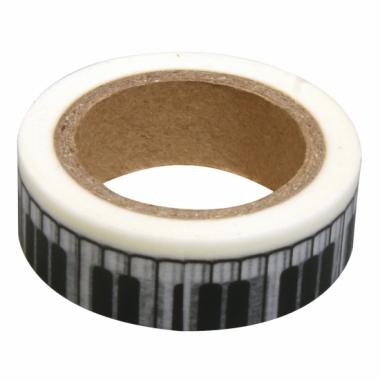 Washi knutsel tape piano