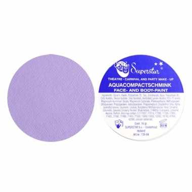 Water schmink pastel lila