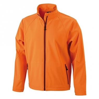 Waterdicht herenjack oranje