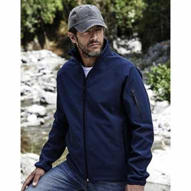 Waterdichte jas voor heren blauw