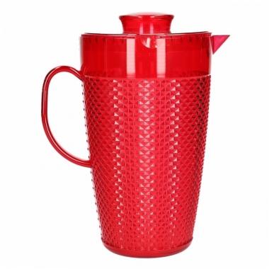 Waterkan met koelelement rood