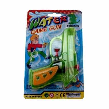 Waterpistolen gekleurd 13 cm