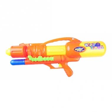 Waterpistool oranje met pomp