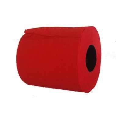 Wc papier rood
