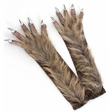 Weerwolf handschoenen met klauwen