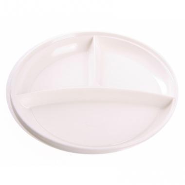 Wegwerp bordjes wit 10 stuks