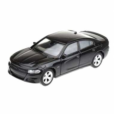 Welly modelauto dodge charger 2016 zwart 1:34