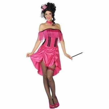 Western bordeel prostituee verkleed jurk roze voor dames
