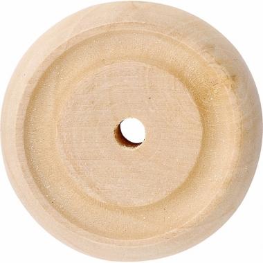 Wielen van hout 3,1 x 1 cm