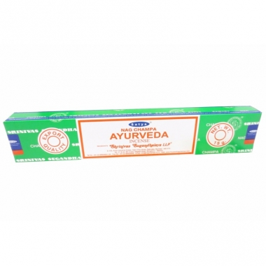 Wierook ayurveda ontspanning/meditatie stokjes nag champa