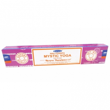 Wierook mystic yoga ontspanning/meditatie stokjes nag champa