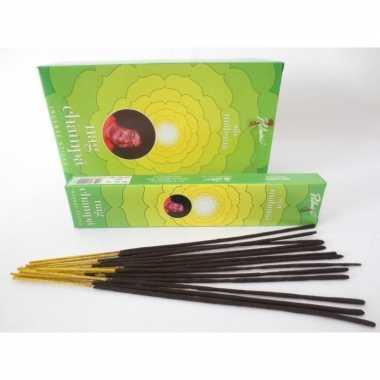 Wierook sai mahima ontspanning/meditatie stokjes nag champa 15 gram