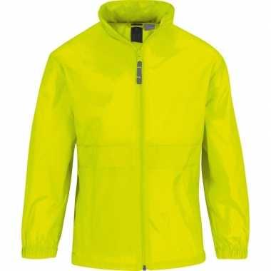 Windjacks voor meisjes geel