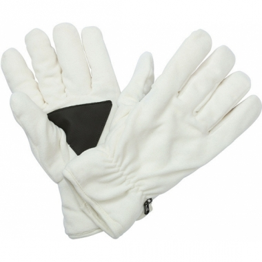 Winter fleece handschoenen off white