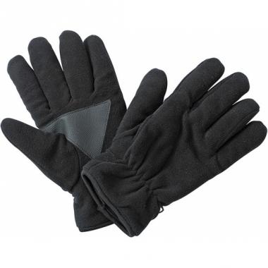 Winter fleece handschoenen zwart