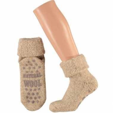 Winter sokken van wol maat 23/26 voor kids