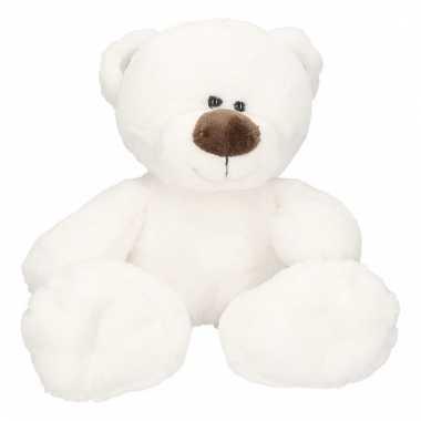 Wit ijsbeertje beertje bobo knuffeldier 38 cm