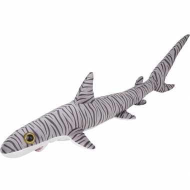 Xl knuffel tijgerhaai gestreept 110 cm knuffels kopen