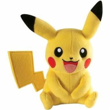 Zachte pokemon pikachu knuffel 22cm