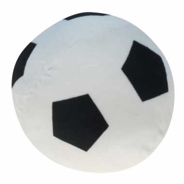 Zachte speelgoed voetbal 16 cm