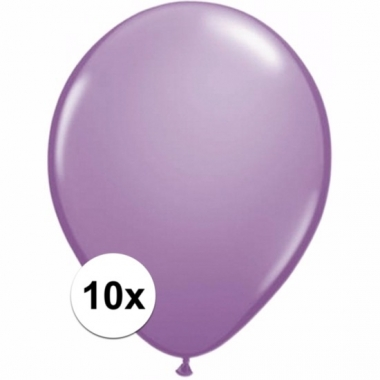 Zakje 10 lavendel party ballonnen
