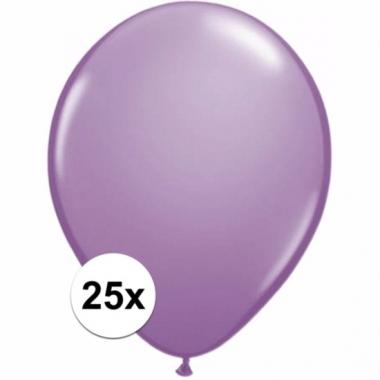 Zakje 25 lavendel party ballonnen