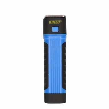 Zaklamp / werklamp cob + led blauw