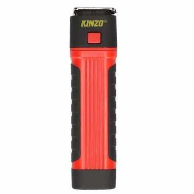 Zaklamp / werklamp cob + led rood