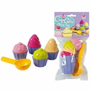 Zandvormen 9 delig cupcakes