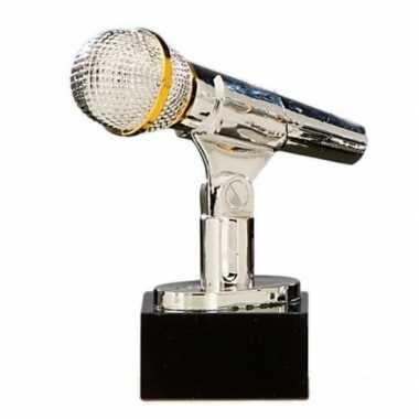 Zang talent beker/award voice