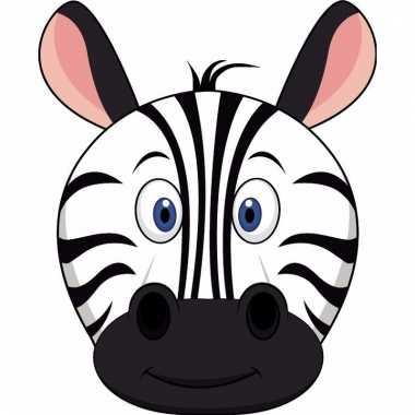 Zebra maskers knutselen pakket