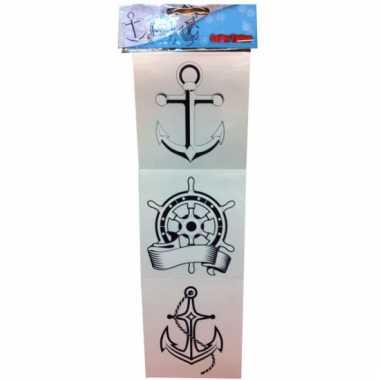 Zeeman tattoos setje
