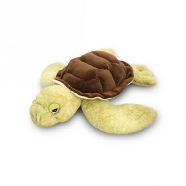 Zeeschildpad knuffel liggend 35cm