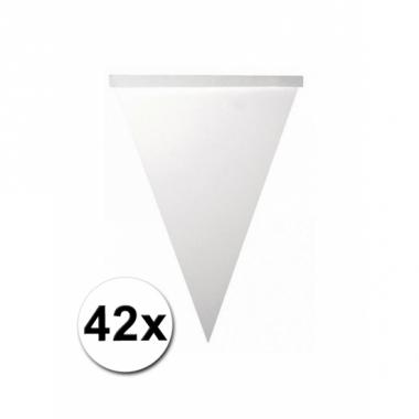 Zelf driehoekige slingers maken 42 vlaggetjes