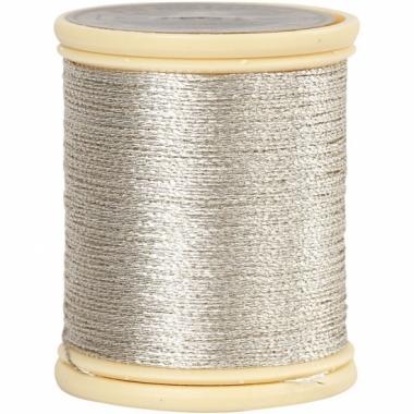 Zilver koord op rol 40 meter